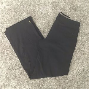 Black straight leg Lucy pants
